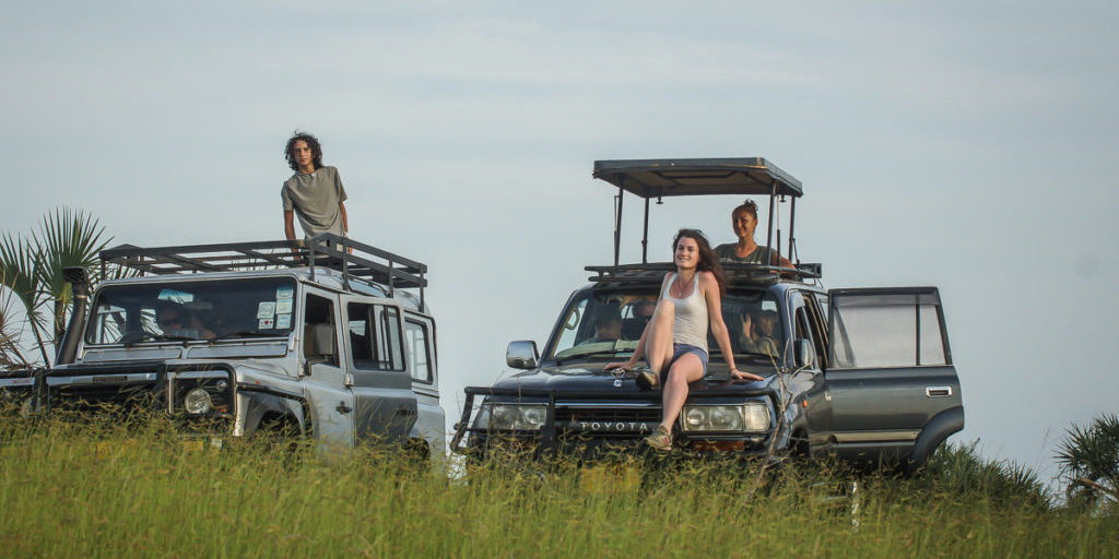 Wildlife drive at Saadani National Park